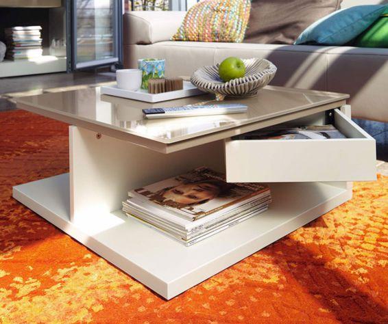 h lsta now couchtisch ct 18 mit schwenklade huelstastudioshop. Black Bedroom Furniture Sets. Home Design Ideas