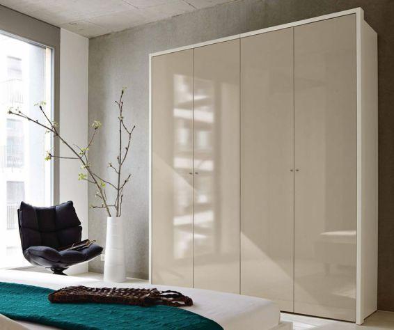 now flexx von h lsta kleiderschrank 4 t rig huelstastudioshop. Black Bedroom Furniture Sets. Home Design Ideas