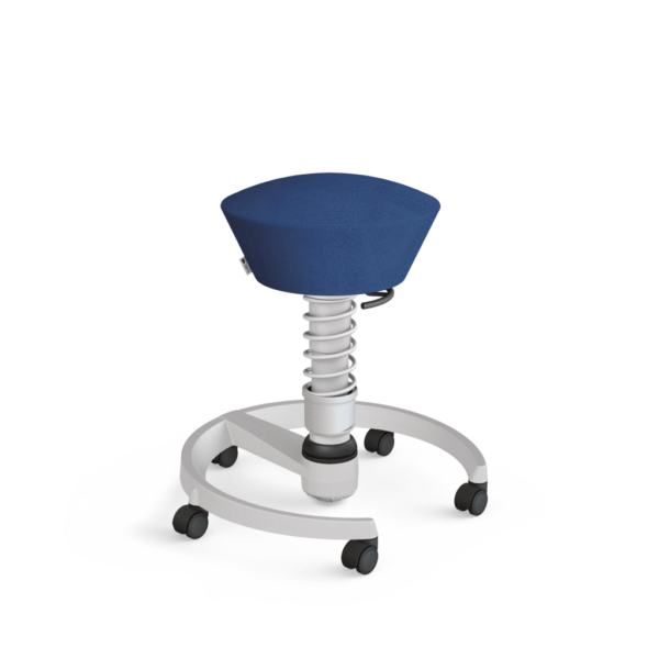 Aeris-Swopper_castors-hard-floor_standard_light-grey-metallic_light-grey-metallic_microfibre_blue