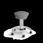 Aeris-Swopper_castors-hard-floor_standard_light-grey-metallic_light-grey-metallic_microfibre_grey